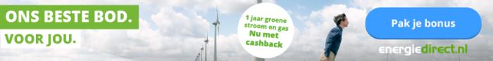 Energiedirect cashback