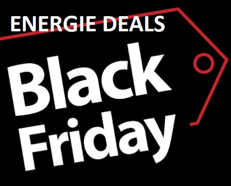 Black Friday Energie Deals